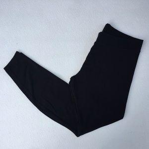 Mossimo Supply Co Black Leggings Large Cotton